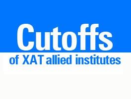 Cutoffs of XAT allied institutes