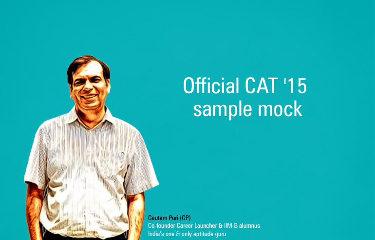 CAT 2015 Official Mock CAT – My take