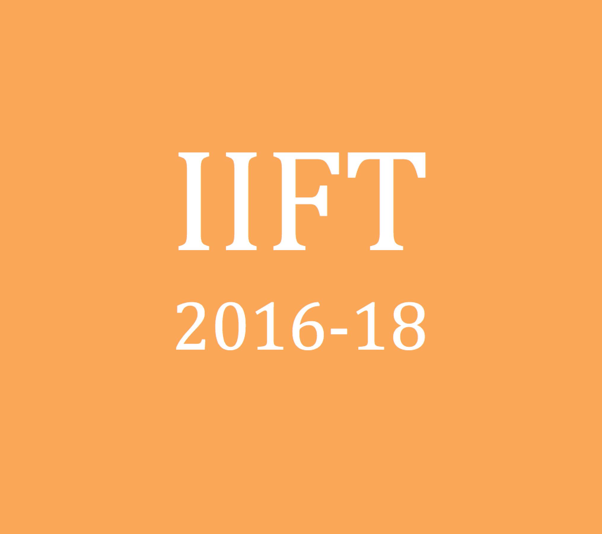 IIFT 2016-18 Analysis: My take