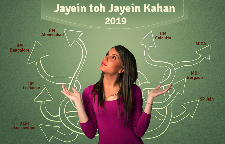 Jayein toh Jayein kahaan 2019: Top MBA Colleges | GP ka