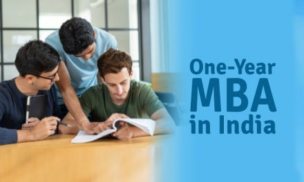One Year MBA in India