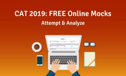 Attempt, Analyse with some free online CAT 2019 mocks