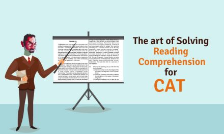 The Art of Solving Reading Comprehension for CAT