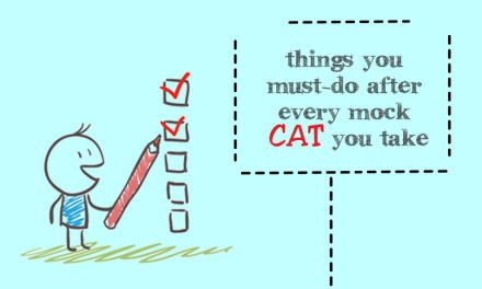 Things you must-do after every mock CAT you take
