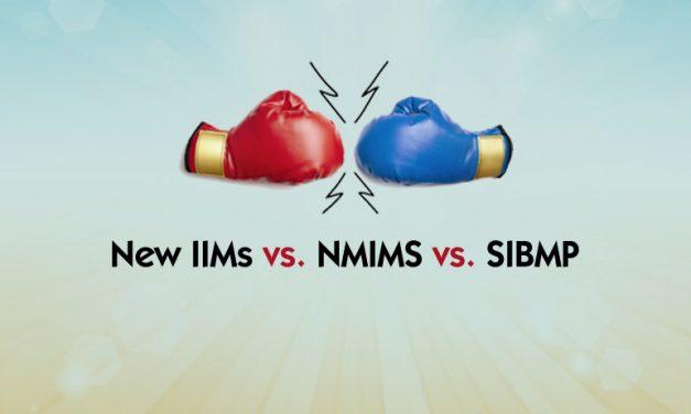 NMIMS vs New IIMs vs SIBM P